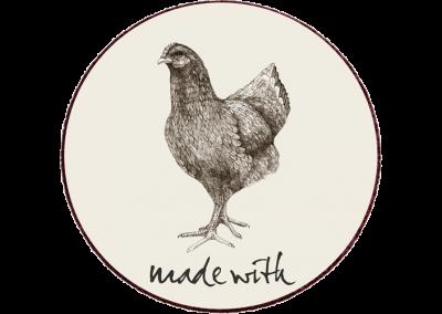 Fritgående kylling